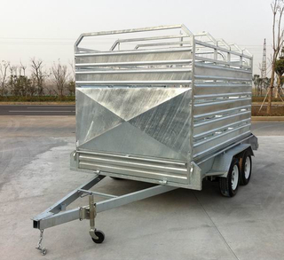 New type side panel of livestock trailer