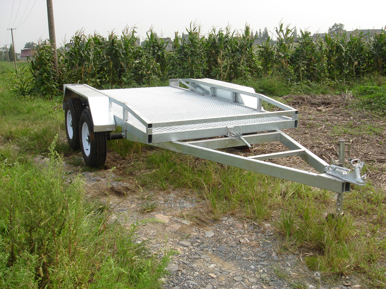 Agricultural 12x6 plant trailer