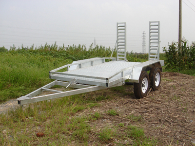 High technology mobile plant trailer with reasonable price